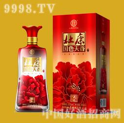 杜康中国红酒