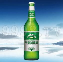 千岛湖啤酒银爽8度570ml