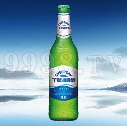 千岛湖啤酒纯鲜8度488ml