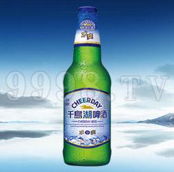 千岛湖啤酒冰爽8度420ml