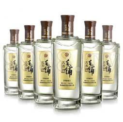 毛铺苦荞酒・金荞42度500ml(6瓶箱装)