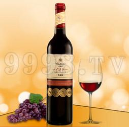 冷谷红典藏版梅鹿辄干红葡萄酒