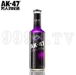 AK47男人鸡尾酒275ml 5度黑加仑味预调酒