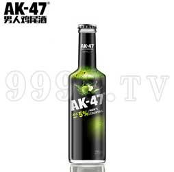 AK47男人鸡尾酒 5度苹果味275ml果酒洋酒