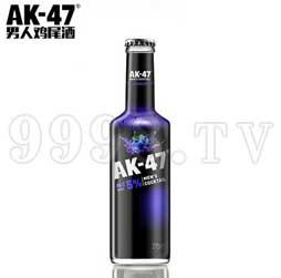 AK47男人鸡尾酒 5度蓝莓味275ml果酒洋酒