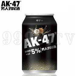 AK47男人鸡尾酒 预调酒330ml椰子味