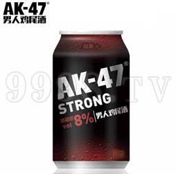 AK47男人鸡尾酒 预调酒330ml烟熏味