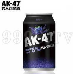 AK47男人鸡尾酒 预调酒330ml蓝莓味