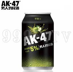 AK47男人鸡尾酒 预调酒330ml苹果味