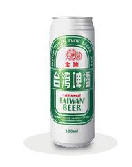 金牌台湾啤酒(0.5公升罐装)