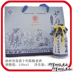 即墨妙府老酒・青花瓷十年陈1×6