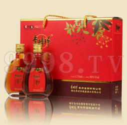 李时珍牌家方酒125ml-4瓶装礼盒市场畅销款