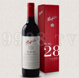奔富BIN28卡琳娜色拉子葡萄酒2013