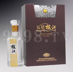五星枝江酒500ml