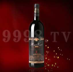 容辰珍藏赤霞珠干红葡萄酒2001