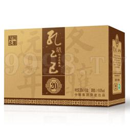 孔乙己绍兴花雕酒远年冬酿20年(外箱)