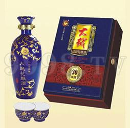 大越绍兴花雕酒三十年陈