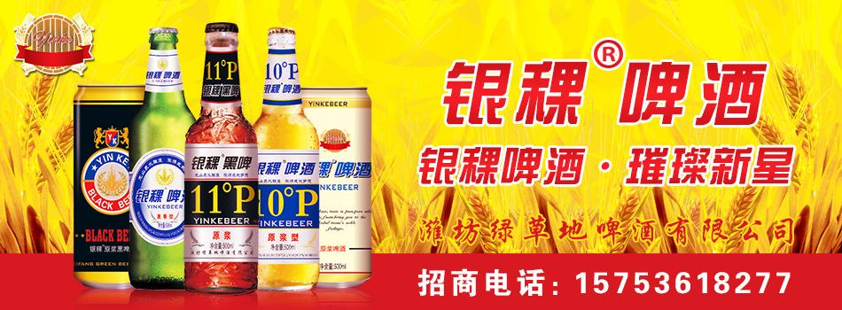 山东潍坊绿草地银稞啤酒