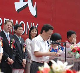 中国酒类流通协会副会长、秘书长刘员亲临指导第二届广州国际名酒展