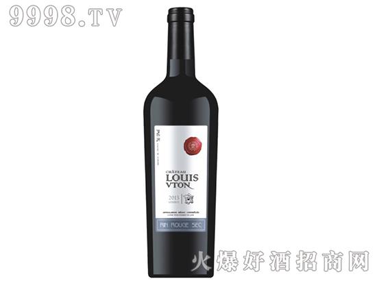 路易威顿艾诺安城堡梅洛干红葡萄酒