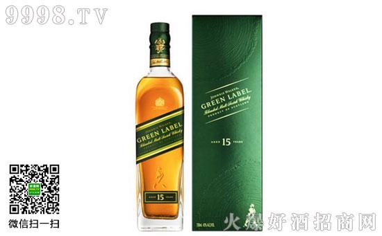 尊尼获加绿牌调配型苏格兰威士忌价格