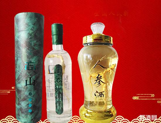 东北高粱山参酒――品的到的健康