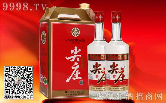 52°尖庄曲酒450ml×2瓶价格,贵吗?