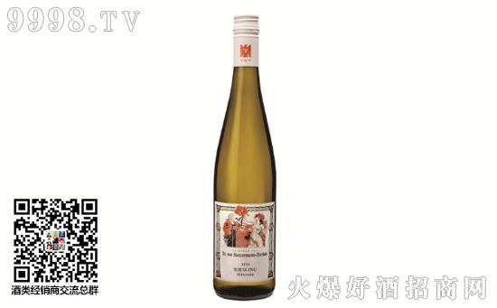 巴塞曼乔丹酒庄雷司令珍藏白葡萄酒2014多少钱一瓶
