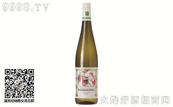 2016年巴塞曼乔丹雷司令半甜白葡萄酒价格
