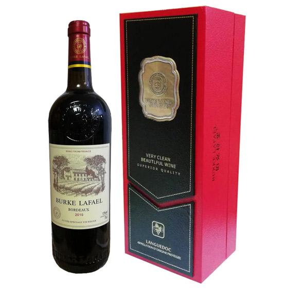 法国伯克拉斐窖藏干红葡萄酒