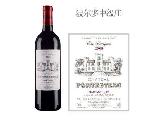 丰铎酒庄红葡萄酒2008年价格,多少钱?