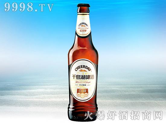 千岛湖啤酒・白啤9度418ml