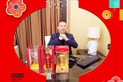 武汉市楚酝坊酒业刘总携全体员工祝您新年心想事成,生意兴旺,财源茂盛!