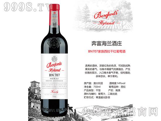 奔富海兰酒庄BN707干红葡萄酒