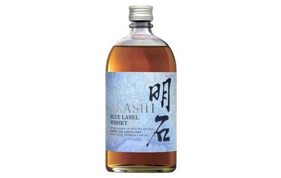 明石蓝标日本调和威士忌价格,多少钱?