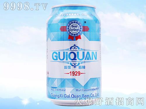 只要产品选的好,年年月月利润高!广西桂泉啤酒就是这么自信!