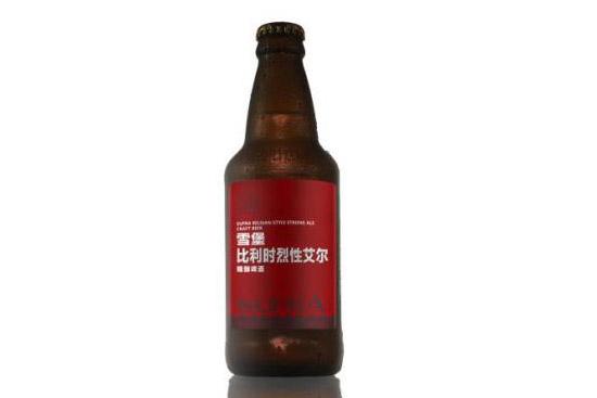 """珠江啤酒研制的""""雪堡比利时烈性艾尔""""啤酒"""