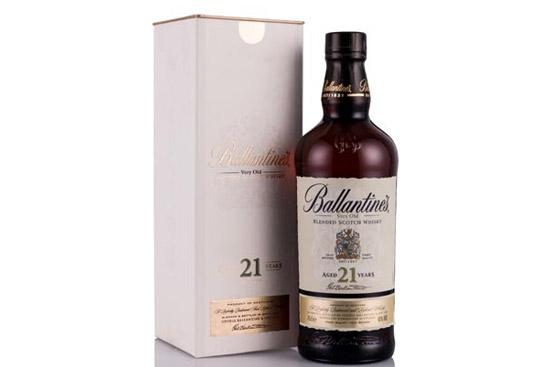 百龄坛21年调和苏格兰威士忌700ml价格,多少钱?