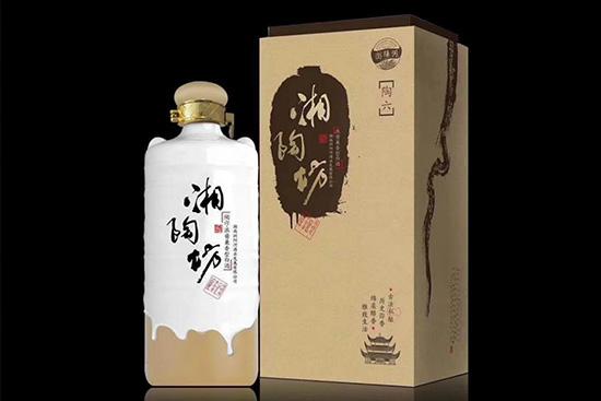 浏阳河酒湘陶坊浓酱兼香型白酒