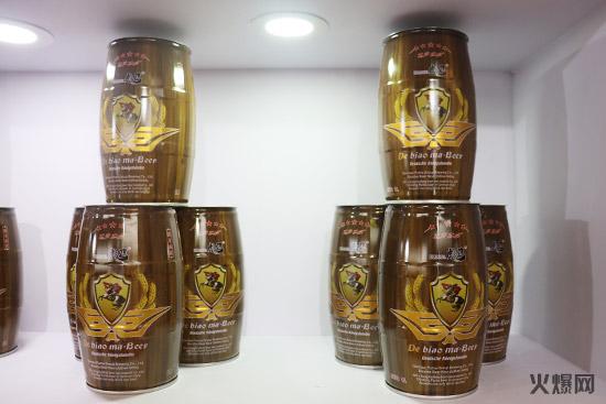 欧洲皇室贵族,德国彪马啤酒亮相济南秋糖,赢广泛关注