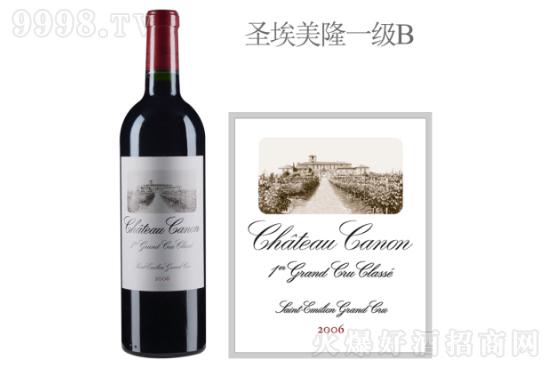 卡农酒庄红葡萄酒2006年价格,多少钱?