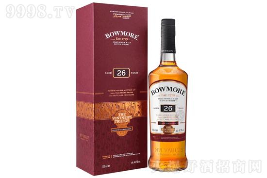 波摩酒庄三部曲第二部26年葡萄酒桶单一麦芽苏格兰威士忌700ml价格,多少钱?