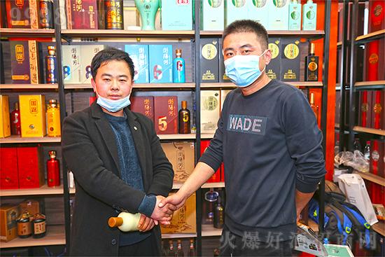 强势入局,实力黑马!浏阳河酒在锦江宾馆与您相约!不见不散!
