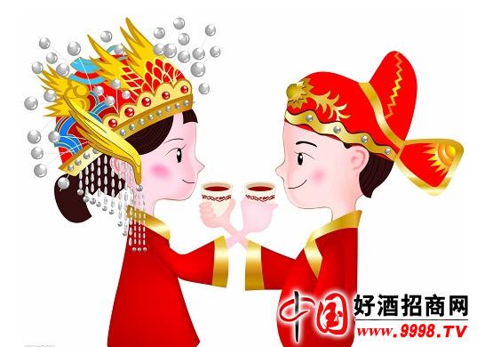 白酒代理之婚宴用酒推荐_商情快报--中国好酒