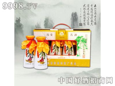 景阳冈酒小酒壶礼盒38°440ml浓香型白酒