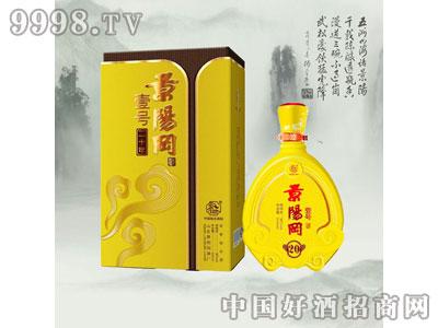 景阳冈陈年壹号20 38度440ml浓香型白酒