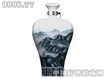玉宇泉定制裸瓶装青花瓷