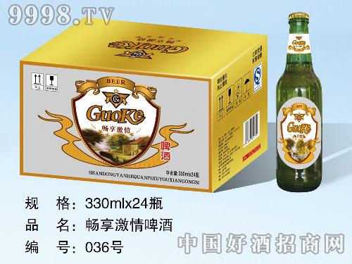 畅享激情啤酒330ml×24瓶