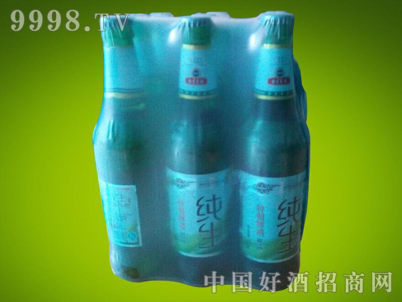 崂山泉啤酒500ml纯生塑包