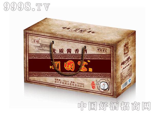 开国宴优质酱香酒盒